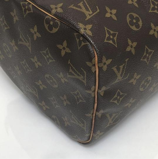 Louis Vuitton Speedy Speedy 30 Monogram Top Handle Satchel in Brown Image 8