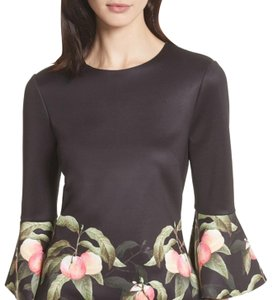 Ted Baker Top black peach