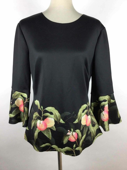 Ted Baker Top black peach Image 1