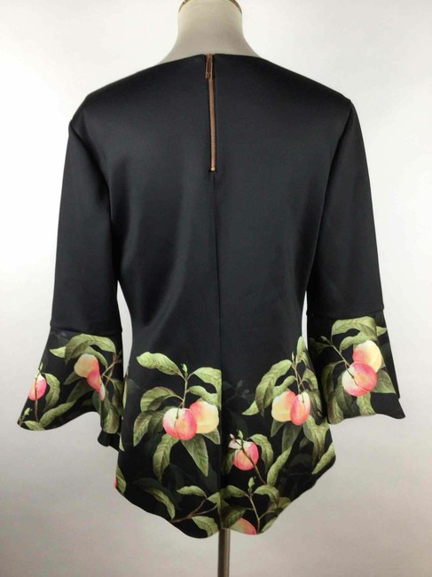 Ted Baker Top black peach Image 2