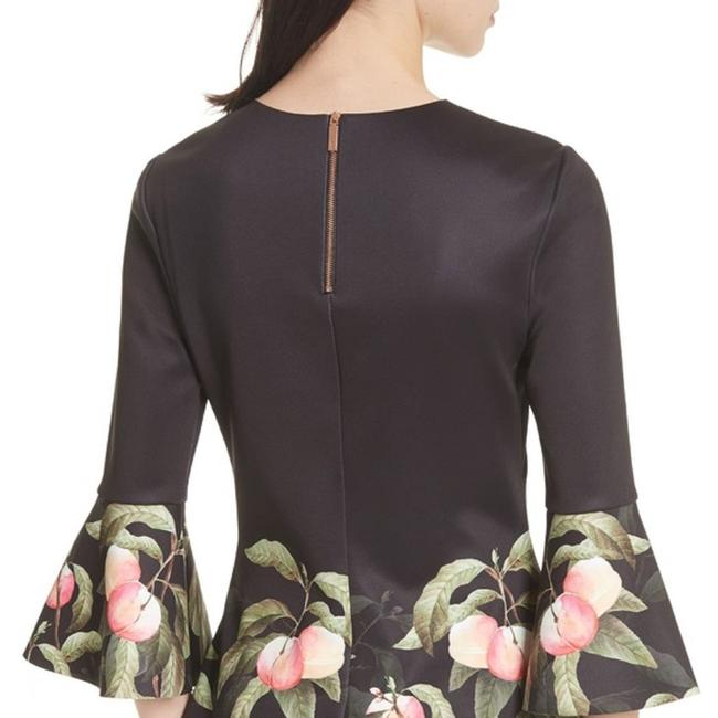 Ted Baker Top black peach Image 4