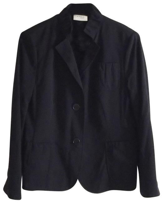 Preload https://img-static.tradesy.com/item/25809222/akris-punto-wool-lightweight-in-black-blazer-size-8-m-0-2-650-650.jpg