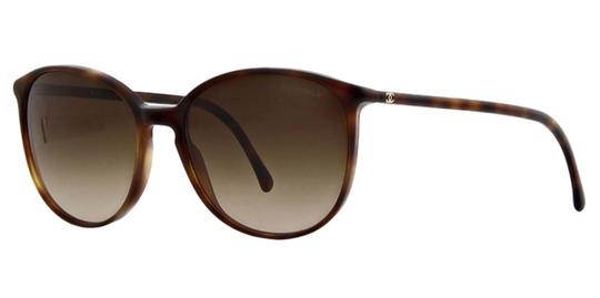 Chanel CH5278 c.1295/S5 Light Havana Frame Brown Lens Sunglasses 55mm Italy Image 0