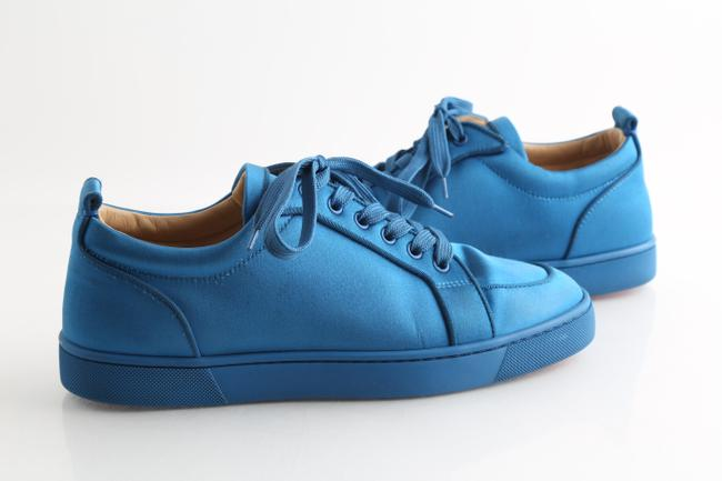 Item - Blue Rantulow Orlato Satin Sneakers Shoes