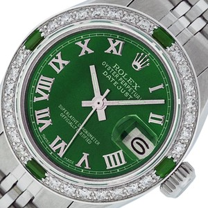 Rolex Ladies Datejust Stainless Steel with Roman Dial Watch