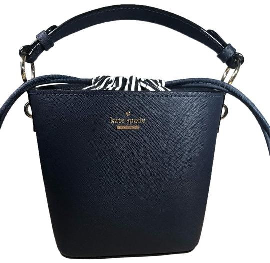 Preload https://img-static.tradesy.com/item/25809300/kate-spade-bucket-purse-and-wallet-navy-leather-hobo-bag-0-1-540-540.jpg