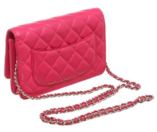 Chanel Woc Quilted Lambskin Cross Body Bag Image 2