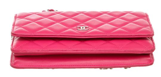 Chanel Woc Quilted Lambskin Cross Body Bag Image 3