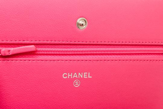 Chanel Woc Quilted Lambskin Cross Body Bag Image 4