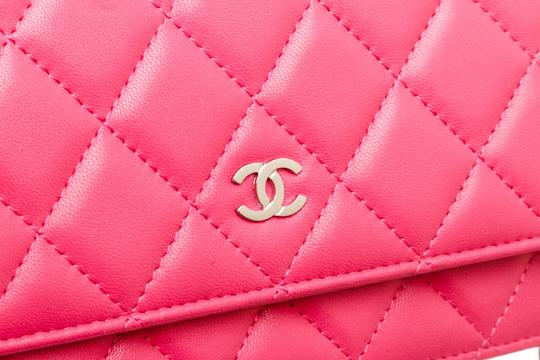Chanel Woc Quilted Lambskin Cross Body Bag Image 7
