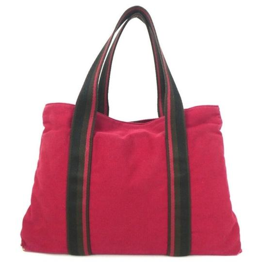Hermès Tote in Red Image 1