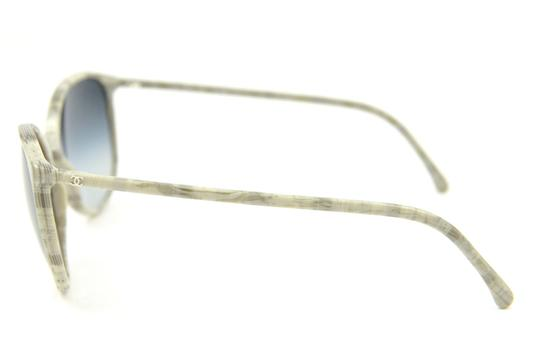 Chanel CH5278 c.1457/S6 Grey Patterned Frame Sunglasses 55mm Italy Image 2