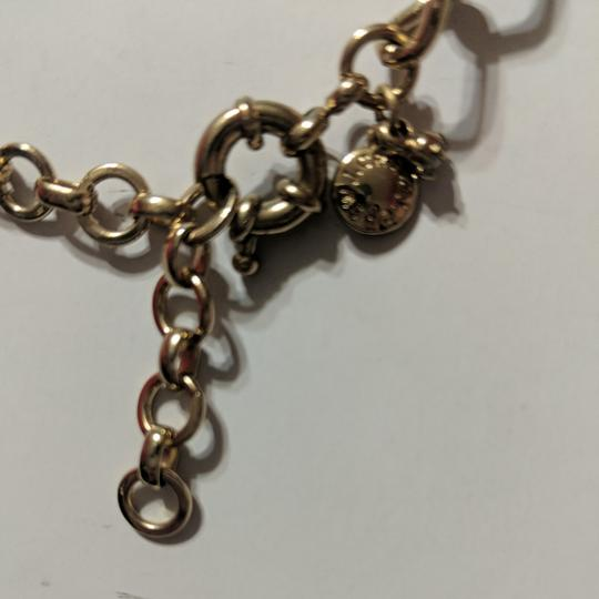 J.Crew Pink and Gold Statement Necklace Image 2