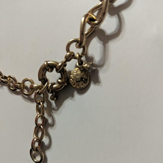 J.Crew Pink and Gold Statement Necklace Image 3