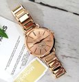 Michael Kors NWT Women's Portia Rose Gold-Tone Watch MK4331 Image 4