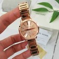 Michael Kors NWT Women's Portia Rose Gold-Tone Watch MK4331 Image 9
