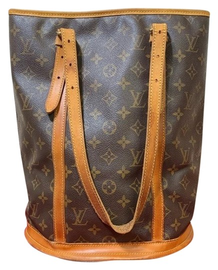 Preload https://img-static.tradesy.com/item/25809470/louis-vuitton-bucket-bag-petite-m42236-brown-monogram-canvas-tote-0-2-540-540.jpg
