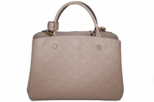 Louis Vuitton Satchel in Beige Image 3