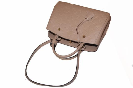 Louis Vuitton Satchel in Beige Image 5