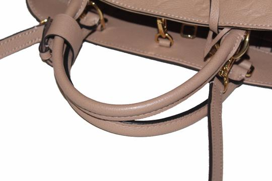 Louis Vuitton Satchel in Beige Image 8