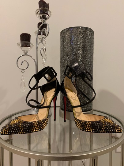 Christian Louboutin black, gold, silver Pumps Image 3