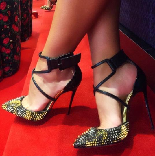 Christian Louboutin black, gold, silver Pumps Image 7