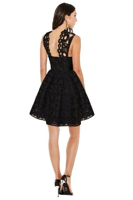 Maje Lace Pockets Fit & Flare Party Dress Image 1