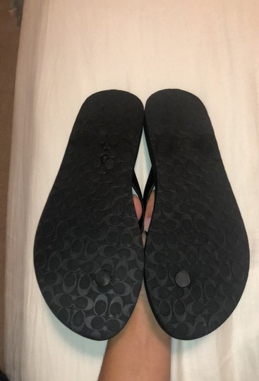 Coach Black and grey Sandals Image 3