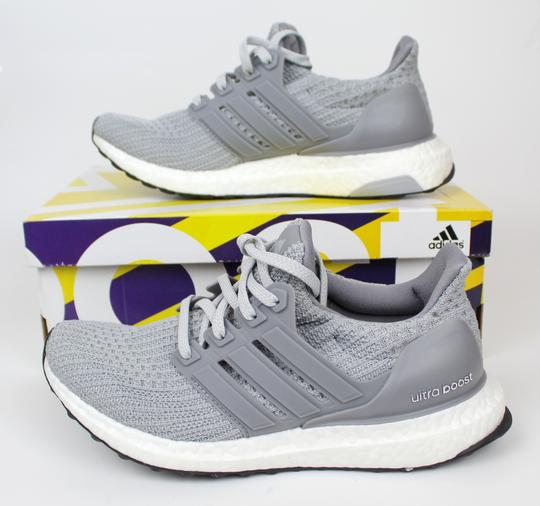 adidas Ultra Boost Running Sneaker gray Athletic Image 1