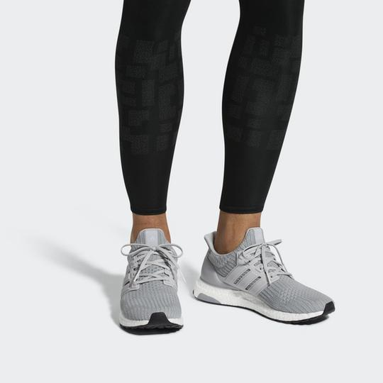 adidas Ultra Boost Running Sneaker gray Athletic Image 2