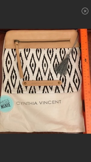 Twelfth St. by Cynthia Vincent black, white, nude Clutch Image 3