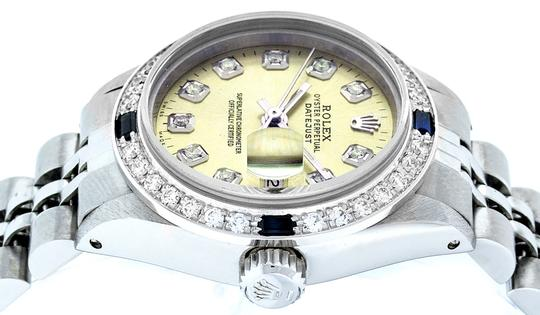 Rolex Ladies Datejust Stainless Steel with Diamond Dial Watc Image 1