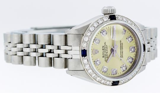 Rolex Ladies Datejust Stainless Steel with Diamond Dial Watc Image 2