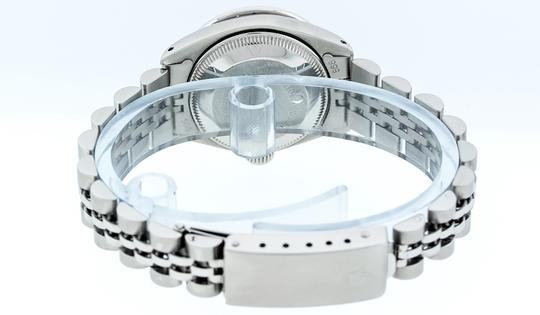 Rolex Ladies Datejust Stainless Steel with Diamond Dial Watc Image 4