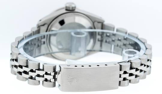 Rolex Ladies Datejust Stainless Steel with Diamond Dial Watc Image 5