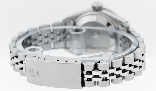 Rolex Ladies Datejust Stainless Steel with Diamond Dial Watc Image 6