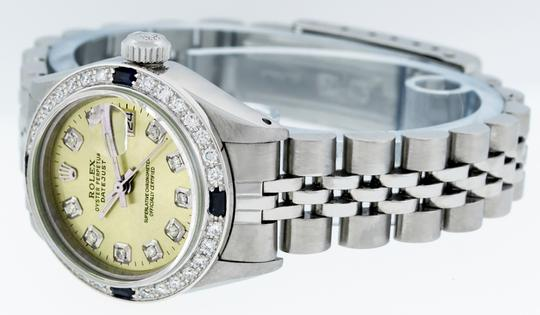 Rolex Ladies Datejust Stainless Steel with Diamond Dial Watc Image 8