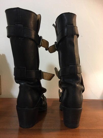 Fiorentini + Baker Leather High Heels And Black Boots Image 0