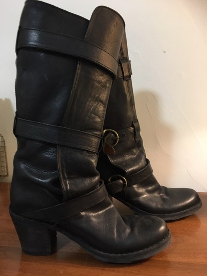 Fiorentini + Baker Leather High Heels And Black Boots Image 4