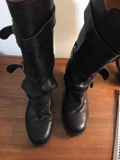 Fiorentini + Baker Leather High Heels And Black Boots Image 6