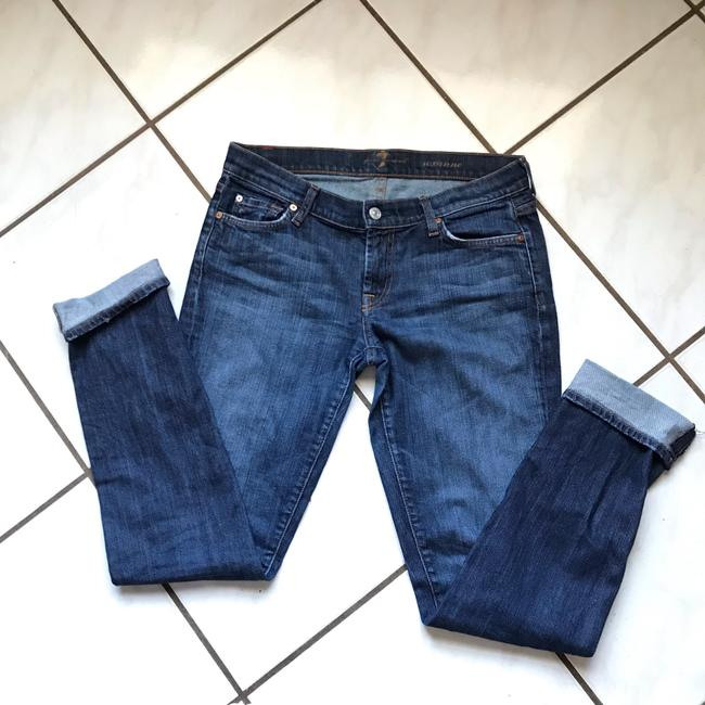 7 For All Mankind Skinny Jeans Image 3