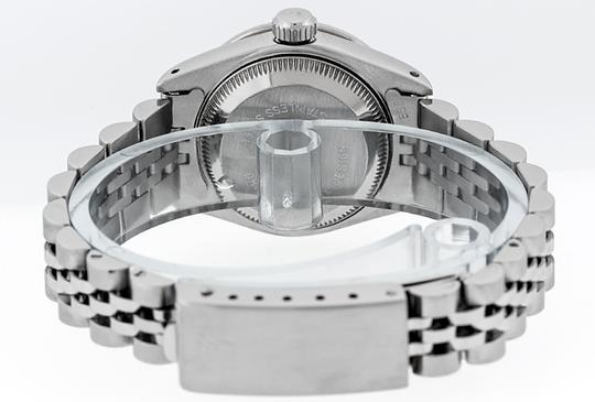 Rolex Ladies Datejust Stainless Steel with String Diamond Dial Watch Image 1