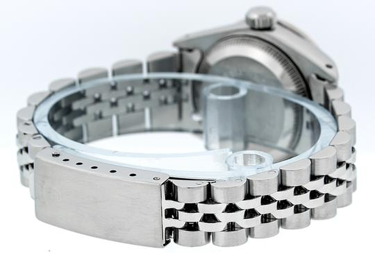 Rolex Ladies Datejust Stainless Steel with String Diamond Dial Watch Image 7