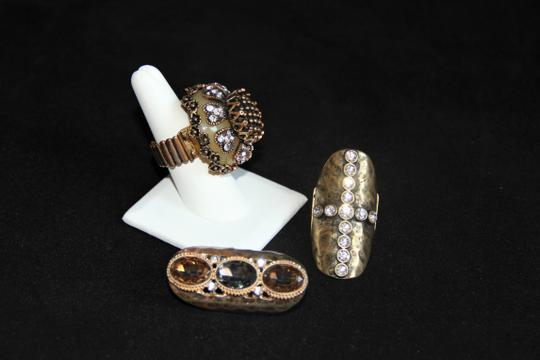 Unbranded Three Bold and Edgy Sparkling Knuckle Rings. Image 6