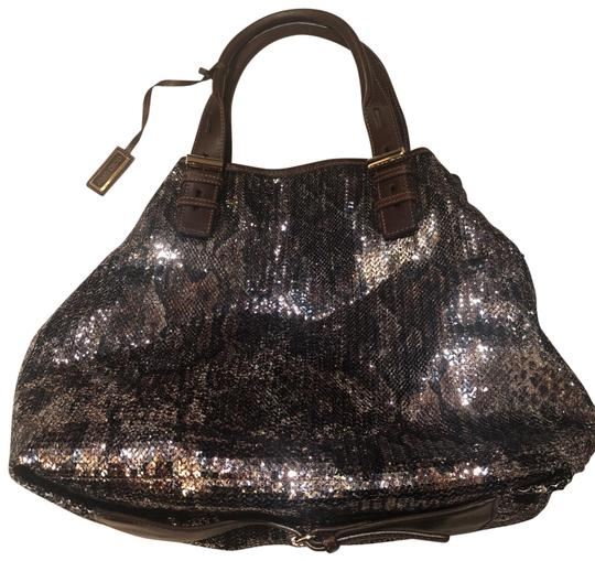 Preload https://img-static.tradesy.com/item/25809663/jimmy-choo-tote-brown-sequins-hobo-bag-0-1-540-540.jpg