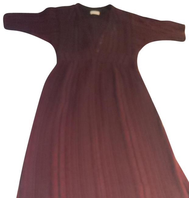 Preload https://img-static.tradesy.com/item/25809664/burgundy-mid-length-casual-maxi-dress-size-8-m-0-1-650-650.jpg