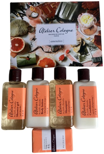 Preload https://img-static.tradesy.com/item/25809678/atelier-cologne-set-pomelo-paradis-shampoo-conditioner-shower-gel-lotion-soap-fragrance-0-1-540-540.jpg