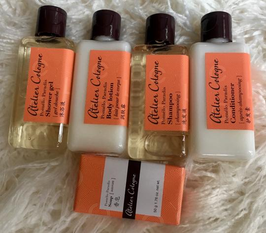 Atelier Cologne Brand New Pomelo Paradis Shampoo Conditioner Shower Gel Lotion Soap Image 1