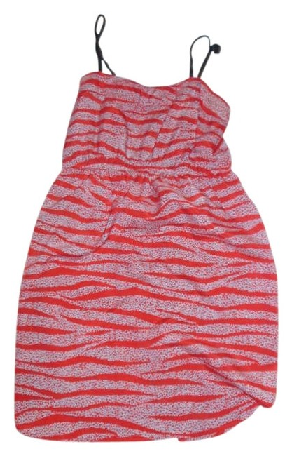 Audrey 3+1 short dress Red on Tradesy