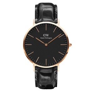 Daniel Wellington NWT Daniel Wellington Classic Black Reading Men's Watch 40mm DW0010012